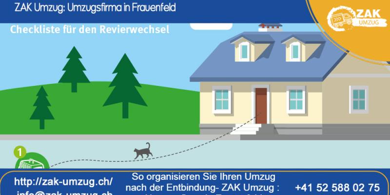 So organisieren Sie Ihren Umzug nach der Entbindung - ZAK Umzug : Umzugsfirma in Frauenfeld