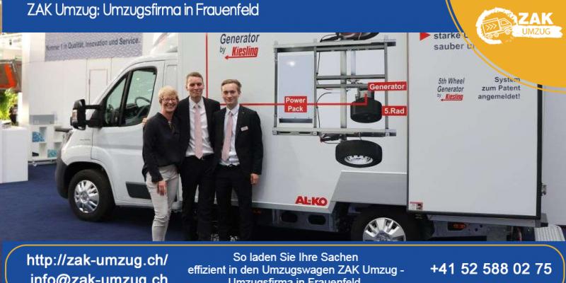 So laden Sie Ihre Sachen effizient in den Umzugswagen ZAK Umzug - Umzugsfirma in Frauenfeld